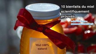 10 bienfaits miel scientifiquement prouvés