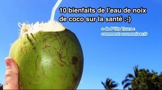 10 bienfaits noix de coco santé