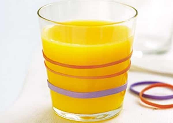 verre anti dérapant fait maison pour enfants