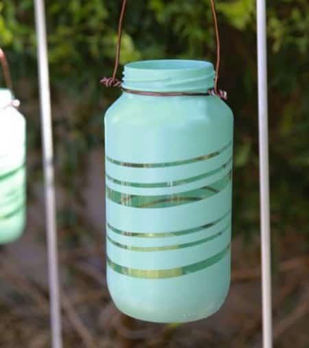 lanternes personnalisées pour bougie jardin
