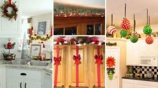 24 idées de décoration de Noel pour la cuisine