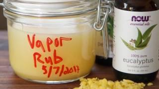 la recette naturel pour faire le vicks vapor rub