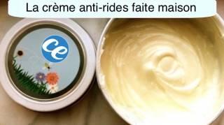 Recette facile crème anti rides maison