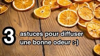3 astuces pour diffuser une bonne odeur naturelle
