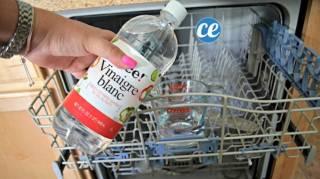 Comment nettoyer lave vaisselle avec vinaigre blanc