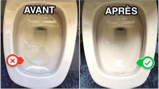 Nettoyant cuvette des toilettes fait maison