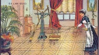 Robot qui fait le ménage tout seul
