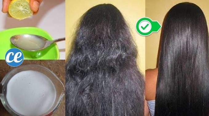 10 Recettes Naturelles Pour Lisser Vos Cheveux FACILEMENT.