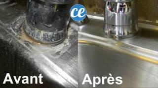 astuce-pour-enlever-sans-frotter-le-calcaire-autour-robinet
