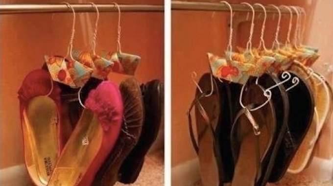 comment ranger toutes ses chaussures quand on n 39 a pas de place. Black Bedroom Furniture Sets. Home Design Ideas