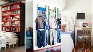 15 Astuces Pour Gagner de l'Espace Dans une P'tite Chambre
