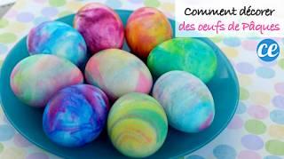 Comment Colorer Vos Oeufs de Pâques Avec de la Mousse à Raser