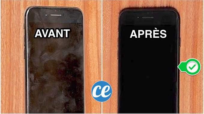 Écran d'iPhone Toujours Sale ? L'Astuce Pour Qu'il Reste Nickel 2 Fois Plus Longtemps.