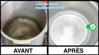 Comment Nettoyer une Cocotte-Minute Avec Des Épluchures de Patates