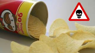 Du Cancer en Tube : l'Horrible Vérité Sur les Chips Pringles