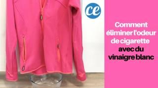 Éliminer l'Odeur De Cigarettes Sur Les Vêtements SANS LES LAVER