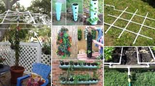 20 astuces pour utiliser les tuyaux en pvc dans le jardin