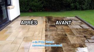 Astuce Pour La Nettoyer Terrasse Noircie