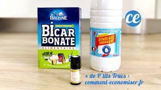 Bicarbonate et Vinaigre Blanc Le Nettoyant Multi-Usages Efficace