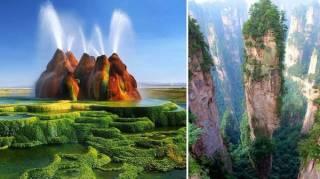 29 Paysages Exceptionnels Sur Terre Que L'on Croirait Venir d'Une Autre Planète