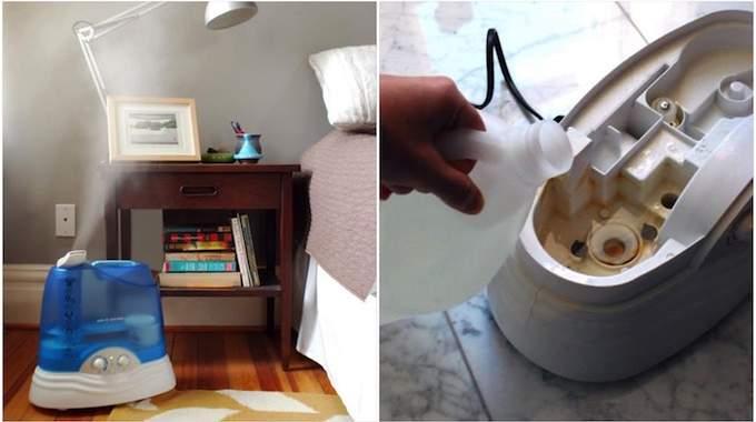 comment d tartrer et nettoyer un humidificateur avec du. Black Bedroom Furniture Sets. Home Design Ideas