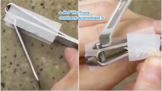 comment éviter de mettre des ongles partout avec coupe-ongles