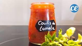 recette du coulis de tomate maison avec des tomates trop mûres