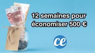 12 Semaines Pour Économiser 500 euros