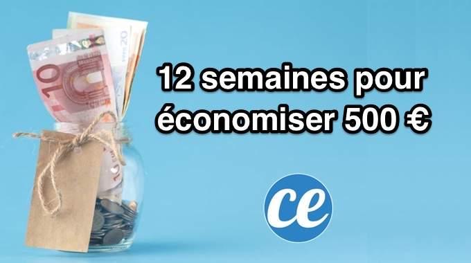 Relevez Le Défi Pour Noël : 12 Semaines Pour Économiser 500 €.