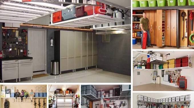 20 super id es de rangement pour avoir un garage toujours impeccable. Black Bedroom Furniture Sets. Home Design Ideas