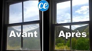 nettoyant pour vitres impeccables
