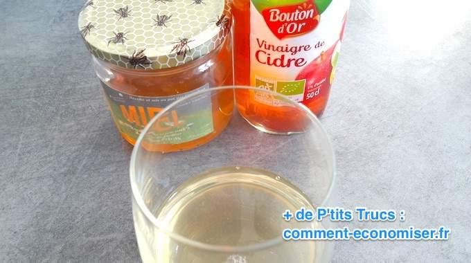 Miel + Vinaigre de Cidre : Le Meilleur Remède Contre la Constipation.