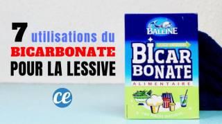 7 utilisations magiques du bicarbonate pour faire sa lessive. Black Bedroom Furniture Sets. Home Design Ideas