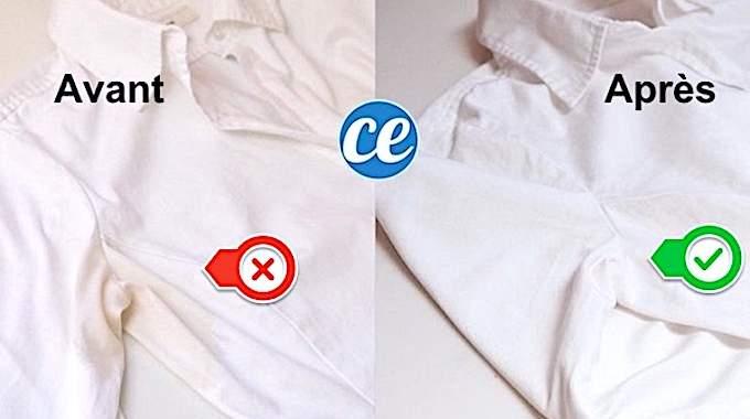 contre les taches de transpiration sur les chemises utilisez cette astuce test e et approuv e. Black Bedroom Furniture Sets. Home Design Ideas