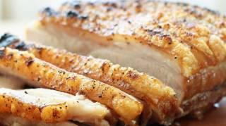 le truc pour cuire un roti de porc croustillant et moelleux