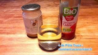 un remede naturel pour prevenir la crise de goutte avec du vinaigre