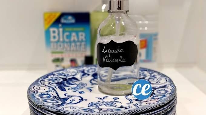 Comment Fabriquer Son Liquide Vaisselle Bio (Facile, Pas Cher Et Dégraissant).