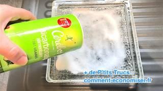 comment nettoyer un cendrier tres encrasse avec des odeurs de tabac incrustées