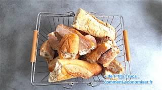 comment utiliser le pain rassis