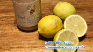 le remede naturel contre la gueule de bois avec citron et miel