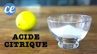 11 Utilisations Incroyables de l'Acide Citrique Que PERSONNE Ne Connaît