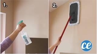 Astuce Pour Nettoyer les Murs de la Maison SANS EFFORTS
