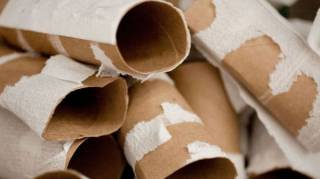 que faire avec des rouleaux de papier toilette