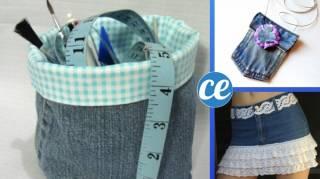 50 Façons Incroyables de Réutiliser Ses Vieux Jeans