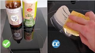 Comment nettoyer une plaque à induction facilement et rapidement