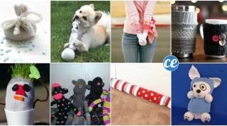comment recycler et utiliser des chaussettes orphelines