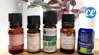 7 recettes produits naturels avec des huiles essentielles