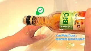 remede efficace pour soigner une brulure legere avec du vinaigre
