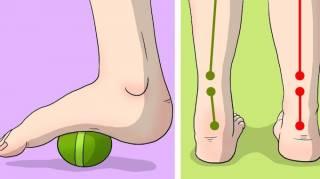 exercices simples pour soulager les douleurs au genou au pied et à la hanche