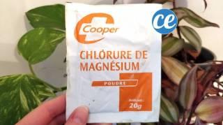 le traitement naturel et rapide contre les verrues chlorure de magnésium